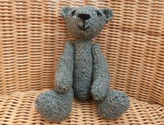 Traditional Teddy Bear Old fashioned Conventional by WoolyLily
