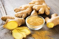ginger-Calms the gastro-intestinal tract, preventing travel sickness and nausea. May be useful for morning sickness in pregnancy (check with your doctor). Eases symptoms of colds, flu, bronchitis and whooping cough. Also, thins the blood to reduce stroke risk.
