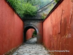 red wall, china
