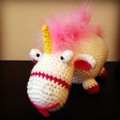 #grumivillanofavorito #minions #unicornio #unicorn #crochet #ganchillo #diy #fluffy #allgoodthings #myfavoritefilm #agnes #amigurumi #amigurumis #despicableme #pituserias