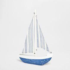 DECORATIVE BLUE SAILBOAT - Decoration Accessories - Decoration | Zara Home Australia
