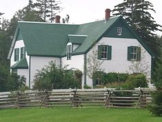 Anne of Green Gables- filmed on beautiful Prince Edward Island, Canada