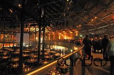 Roundhouse - From Victorian beginnings as a steam-engine repair shed, to legendary cultural venue, t. London Party, London Christmas, Engine Repair, Party Venues, Round House, Steam Engine, Amazing Architecture, Where To Go, Balcony