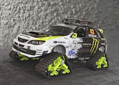 400BHP TRAX STI. I have no idea why they made this but I want it!