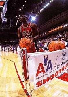 Michael Jordan Chicago Bulls NBA All-Star Weekend
