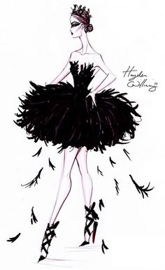 Costume Couture by Hayden Williams: The Black Swan by Fashion_Luva, via Flickr
