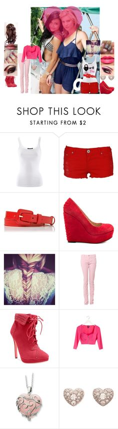 """Glee:Valentine's Day :Santana and Brittany"" by glee2shake ❤ liked on Polyvore featuring Naya, Ralph Lauren, L.K.Bennett, Betsey Johnson, Chanel, Armani Jeans, Two Lips, 2b bebe, FOSSIL and Oasis"