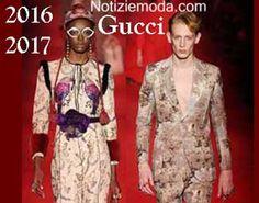 Stile Gucci autunno inverno 2016 2017 uomo donna