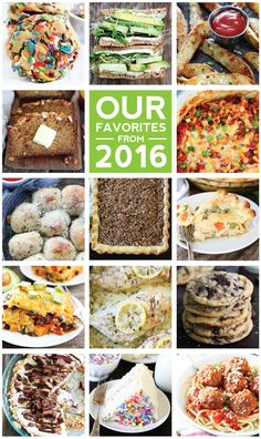 Our Favorite Recipes from 2016