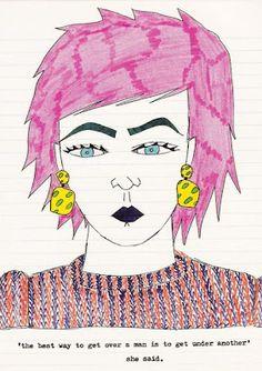#daisydevilleneuve #iloveillustration #fashionillustration