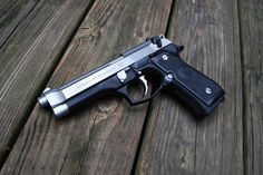 Beretta 92FS/M9 A1 9mm, reliable and easy to disassemble in the field of needed.