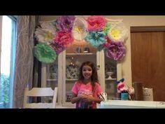 DIY Tissue Paper Flo