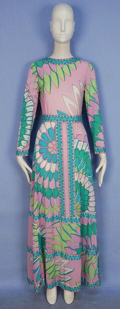 Dress  Emilio Pucci, 1970s