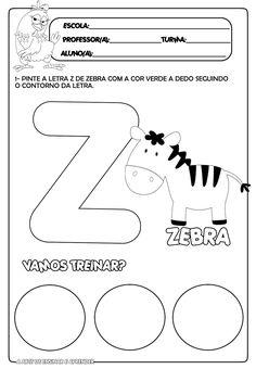 Atividade pronta letra Z