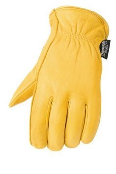 Mossi Lined Deerskin Gloves (Tan, XX-Large) by Mossi. $23.80. This is lined with 40 grain thinsulate, C40 insulation, 100 per cent pure deerskin, keystone thumb. This is available in tan and also in sizes small to XX-large.