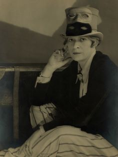 Janet Flanner (c.1927)  by Berenice Abbott - Very thought provoking picture.  An interesting time in history.