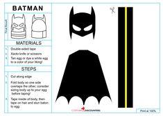 Batman Easter Egg Printable