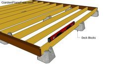 Free-standing deck how-to
