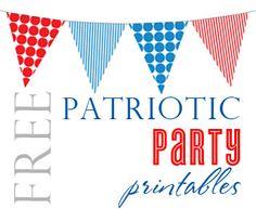 Free-Patriotic-Party-Printables