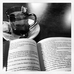 Tea in black and white