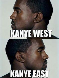 Mr. West Meet Mr. East
