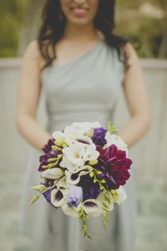 Stunning bouquet: http://www.stylemepretty.com/california-weddings/los-angeles/2014/06/26/art-deco-inspired-wedding-at-skirball-cultural-center/   Photography: Rebecca Peplinski - http://cargocollective.com/rebeccapeplinski