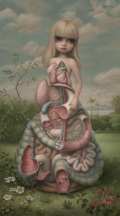 "Mark Ryden Exhibits New Paintings and Bronze Sculpture in ""Dodecahedron"" 