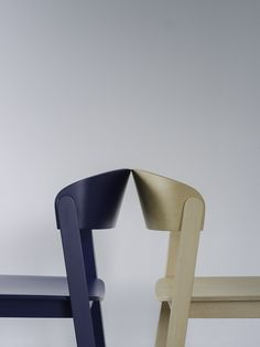 Stackable chair PUR by Zilio Aldo