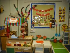 Sprinkles to Kindergarten!: Playful little pumpkins dramatic play pumpkin patch