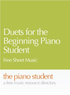 Here's a small collection of duets for the piano student with 1 to 2 years of experience from MakingMusicFun.net. The duets are written to be played by a teacher and their student, or by two …