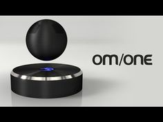 OM/ONE: The world's first levitating bluetooth speaker