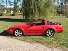 1986 Nissan 300zx Turbo  -- Oh how I loved this car.  Mine was a 5-speed and fast as hell. Good times.