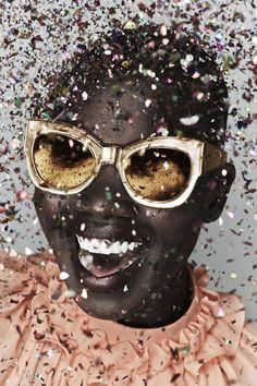 Fashion's Favorite Cult Sunglasses Line Got Even Cooler #refinery29 http://www.refinery29.com/2014/10/75915/karen-walker-celebrate-anniversary-collection#slide1