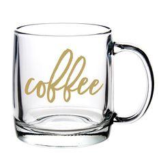 Coffee Glass Coffee Mug