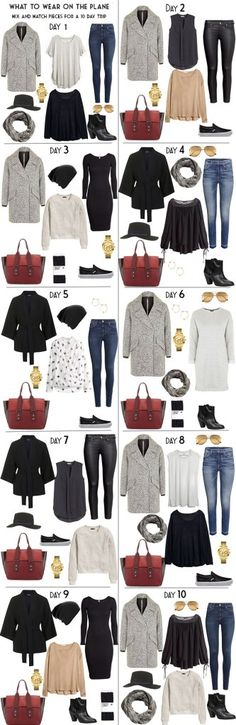 What to Pack for Vienna Austria Day Looks #travellight #traveltips #packinglight #travel