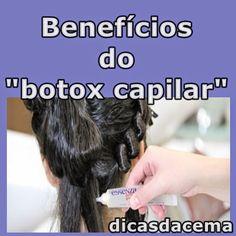 """Dicas da Cema: Benefícios do """"botox capilar"""""""
