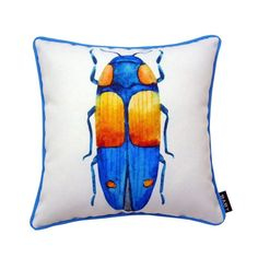Lava 1 Long Beetle Indoor/Outdoor Pillow - 56757.999