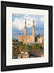 Ashley Framed Prints Selimiye Mosque St Sophia Cathedral Nicosia Cyprus,  Wall Art Home Decoration, Color, 40x34 (frame Size), Black Frame, ...