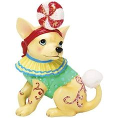 Aye Chihuahua Candy Mini Figurine by WL
