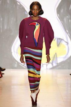 Яркий костюм с аппликацией Tsumori Chisato