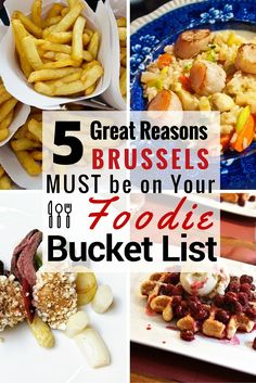 With incredible restaurants for all budgets, countless festivals, and food museums, Brussels is at the heart of the Belgian culinary scene. Here are 5 reasons Brussels, Belgium must be on your Foodie Bucket List.