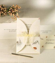 Wilton Wedding Invitation Kit Pressed Floral, , hi-res