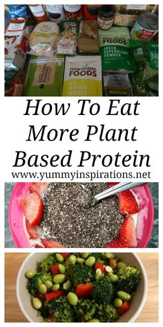 Plant Based Protein Sources – How to increase your daily intake of plant based p… – Flexitarian Diet High Protein Foods List, Vegan Protein Sources, Best Protein, High Protein Recipes, Protein Sources For Vegetarians, Plant Based Snacks, Plant Based Diet, Plant Based Recipes, Plant Based Foods List