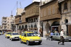 Syria Pictures, Aleppo, Balconies, Geography, Street View, Architecture, Healthy Food, Ottoman, Syria