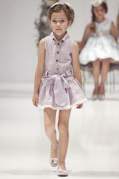 Niñas y Niños de Moda: Vestidos de Moda para Niñas de La Quinta en FIMI Verano 2014