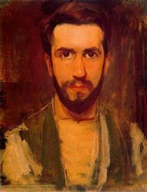 Self Portrait - Piet Mondrian