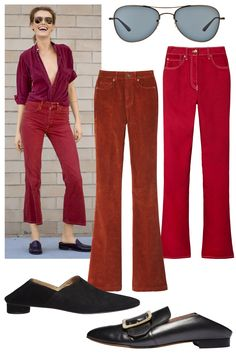 From rouge hues to distressed textures, her are the latest denim trends for spring: Distressed Texture, Denim Trends, Mix N Match, Good News, Casual Chic, Catwalk, Must Haves, Personal Style, Jeans