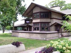 B. Harley Bradley House in Kankakee, IL
