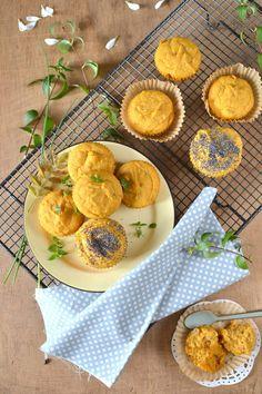 Muffins à la patate douce et au cumin