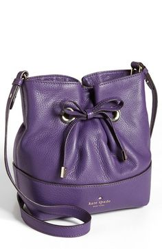 kate spade new york 'west valley - small valentine' leather bucket bag available at #Nordstrom
